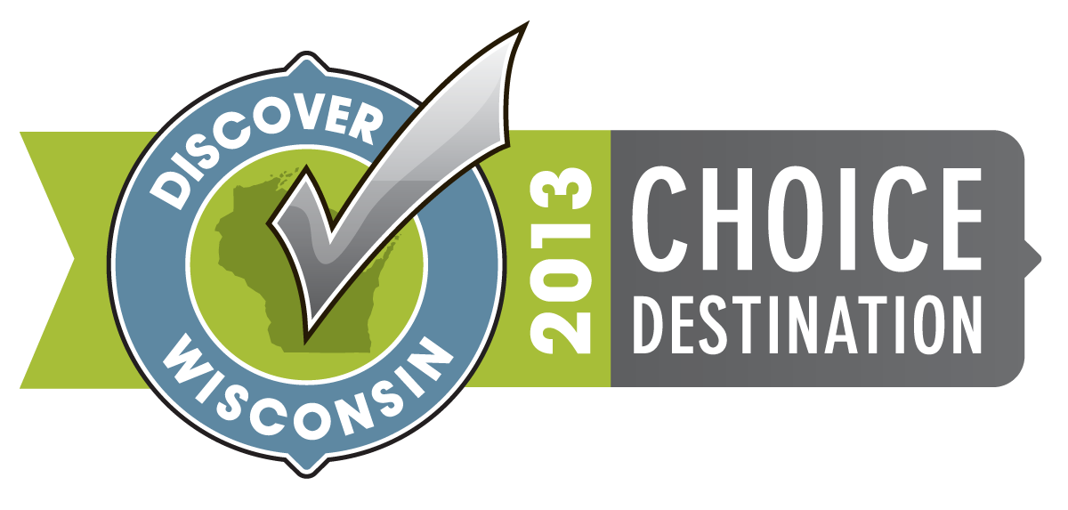 Discover Wisconsin 2013 Choice Destination Opens in new window