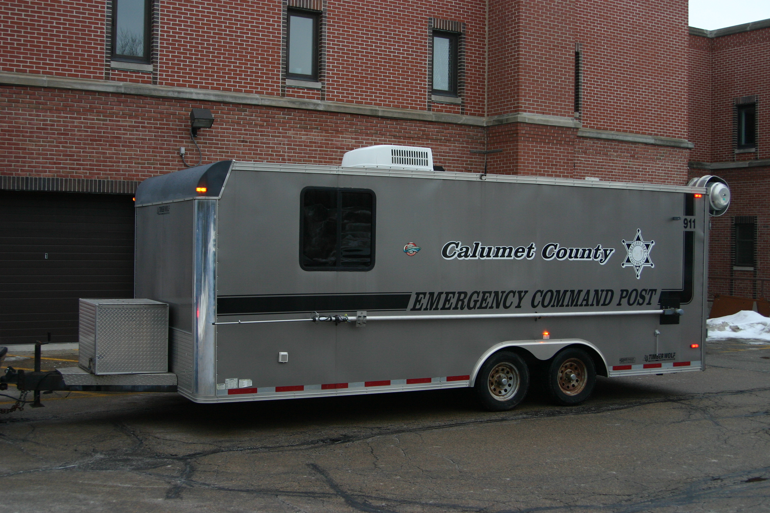 Calumet County Emergency Command Post Trailer